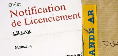 Lettre de licenciement pour une procédure de licenciement