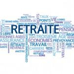 Nuage de mot concernant la RETRAITE traité dans un article d'avocat en droit du travail