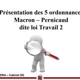 présentation 5 ordonnances MACRON - Pénicaud