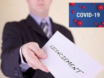 Licenciement et coronavirus