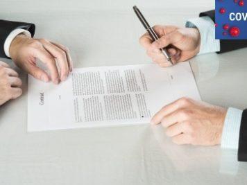 promesse de contrat période covid-19