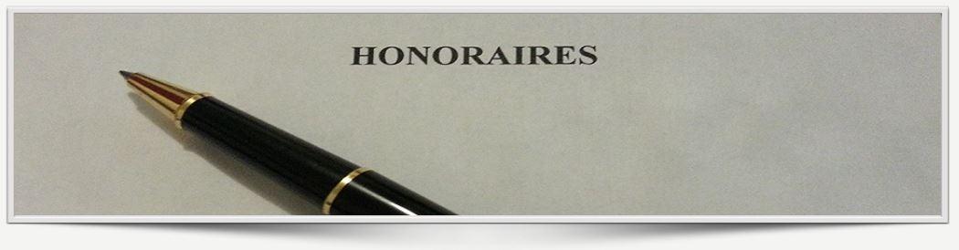 Honoraires du maître garcia; avocat sur paris honoraires Honoraires 8